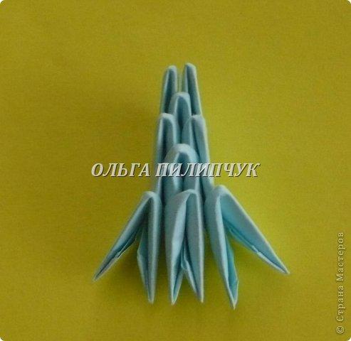 Для Кроша понадобится: всего 326 модулей. Белых - 9 модулей (1/32),  голубых - 295  модулей (1/32) и  голубых - 22 модулей (1/64).   фото 43