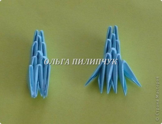 Для Кроша понадобится: всего 326 модулей. Белых - 9 модулей (1/32),  голубых - 295  модулей (1/32) и  голубых - 22 модулей (1/64).   фото 44