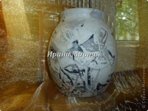 """Жил-был глиняный горшок, стал каменной вазочкой! Спасибо Фердаус Мухтаровне за мастер-класс по изготовлению """"каменной"""" баночки https://stranamasterov.ru/node/549155?c=favorite фото 2"""