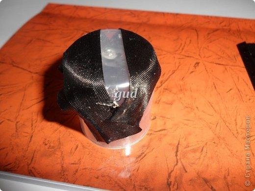 Декор предметов Мастер-класс Свадьба Аппликация Свадебные бутылочки и МК Ленты фото 39