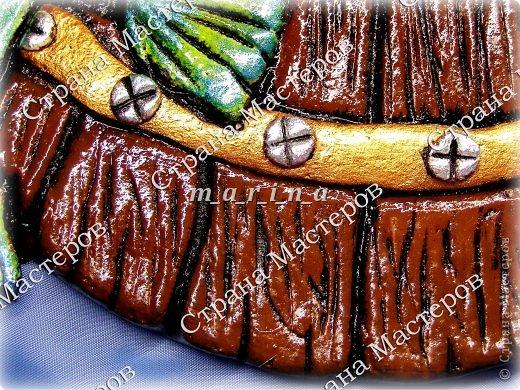 Поделка изделие День рождения Лепка Хмельная рыбка Клей Краска Проволока Тесто соленое фото 5