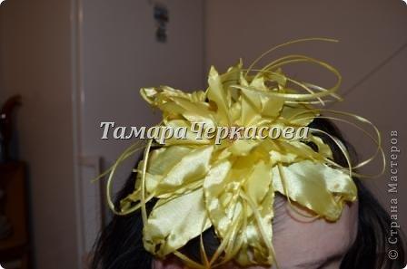 Цветы из ткани фото 7