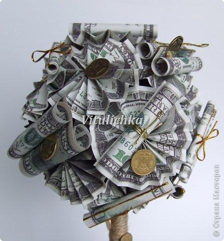 Денежное дерево своими руками мастер класс пошагово с фото