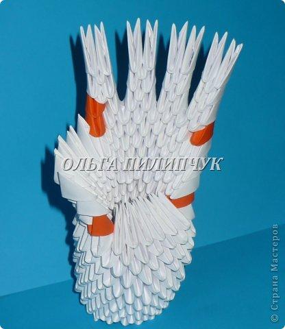 Для одной руки понадобится 395 белых модулей.  Можно взять бледно розовый цвет или светло бежевый. фото 28