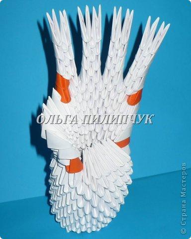 Для одной руки понадобится 395 белых модулей.  Можно взять бледно розовый цвет или светло бежевый. фото 29