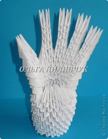 Для одной руки понадобится 395 белых модулей.  Можно взять бледно розовый цвет или светло бежевый. фото 37