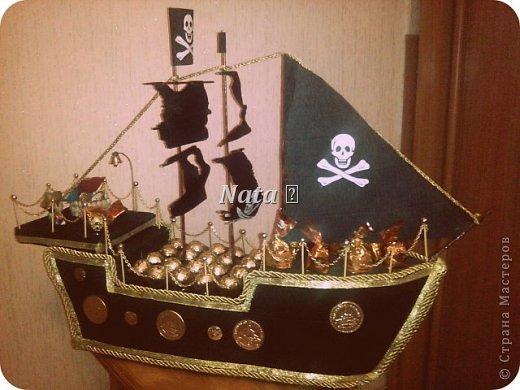 Судно корабль из пенопласта своими руками 47