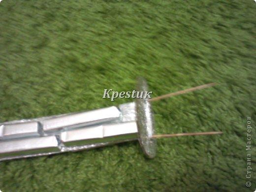 Сегодня у меня создался вот такой самурайский меч. Попробую сделать не большой МК, сразу прошу прощения за качество фото (телефон) фото 5