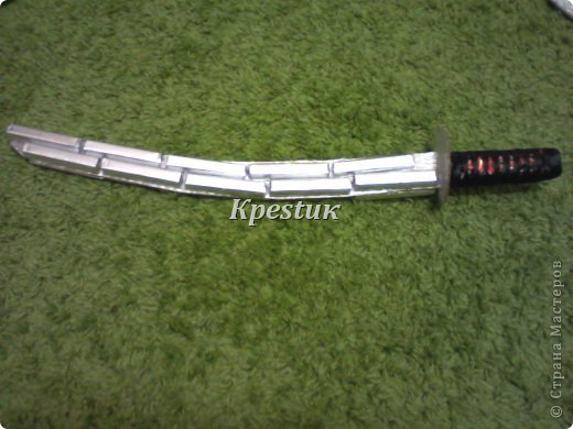 Мастер-класс Свит-дизайн Моделирование конструирование Вакидзаси яп 脇差 — короткий традиционный японский меч фото 8