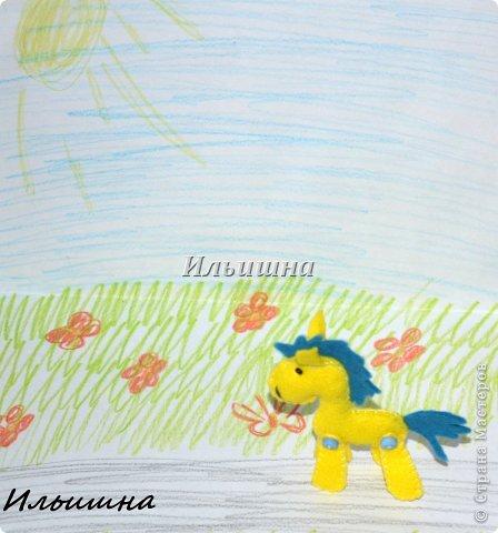Мастер-класс Поделка изделие Новый год Шитьё Лошадки-малышки из фетра + МК Фетр фото 20