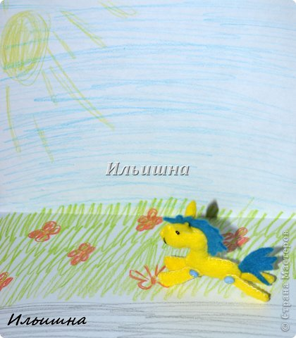 Мастер-класс Поделка изделие Новый год Шитьё Лошадки-малышки из фетра + МК Фетр фото 22