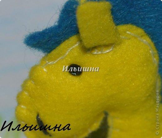 Мастер-класс Поделка изделие Новый год Шитьё Лошадки-малышки из фетра + МК Фетр фото 18