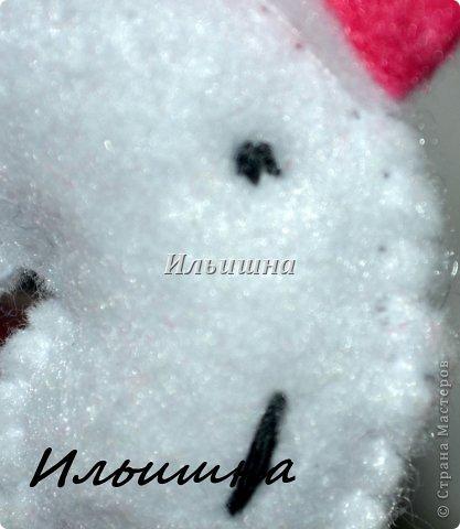 Мастер-класс Поделка изделие Новый год Шитьё Лошадки-малышки из фетра + МК Фетр фото 19