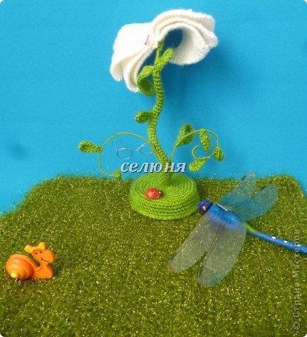 Вот такой цветок знаний родился из-под моего ... крючка фото 3
