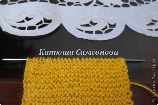 Игрушка Мастер-класс Вязание спицами МК по вязанию миньонов спицами Пряжа фото 3