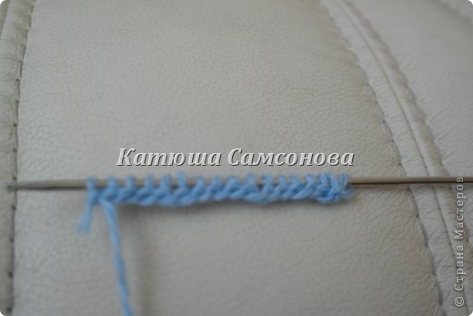 Игрушка Мастер-класс Вязание спицами МК по вязанию миньонов спицами Пряжа фото 11
