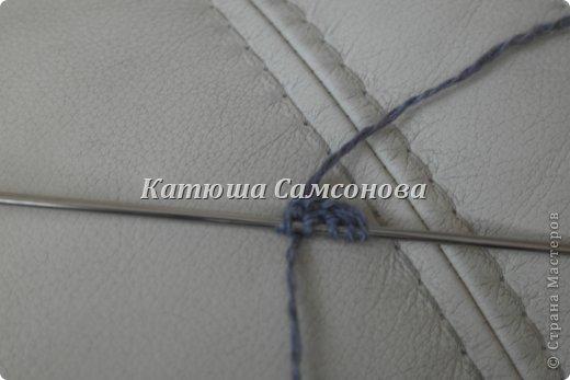 Игрушка Мастер-класс Вязание спицами МК по вязанию миньонов спицами Пряжа фото 16