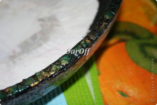 Мастер-класс Поделка изделие День рождения Папье-маше Мраморная чаша_утолщение стенок Бумага фото 19