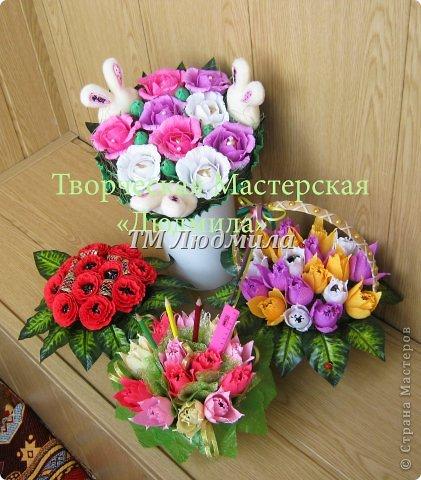 Букет для любимой жены заказ мужчина на годовщину. фото 5