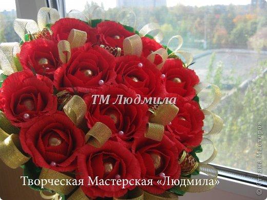 Букет для любимой жены заказ мужчина на годовщину. фото 4