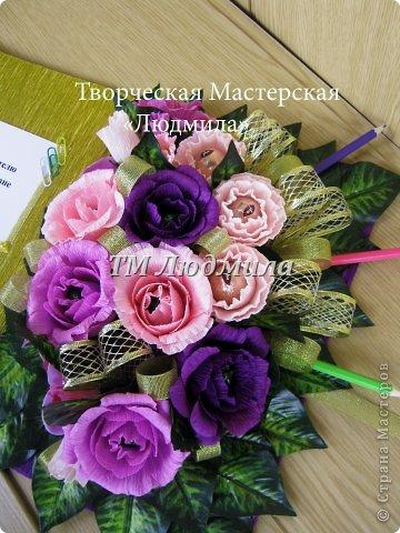 Букет для любимой жены заказ мужчина на годовщину. фото 11