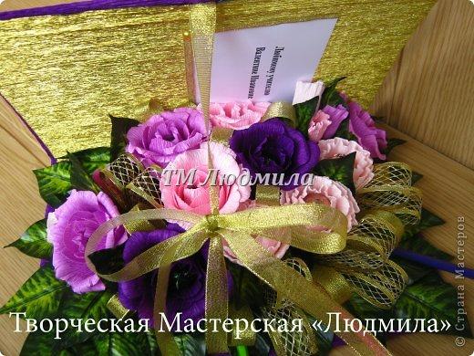 Букет для любимой жены заказ мужчина на годовщину. фото 14