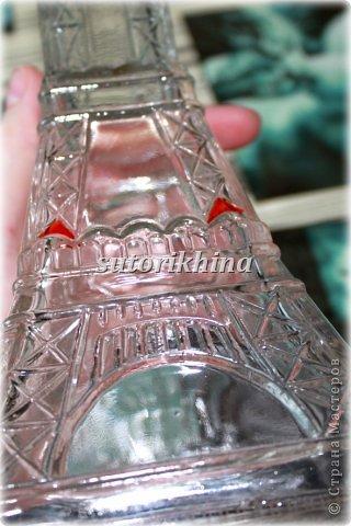 Мастер-класс Поделки электрические Моделирование конструирование Роспись Настольная лампа из бутылки Бутылки стеклянные Краска фото 3