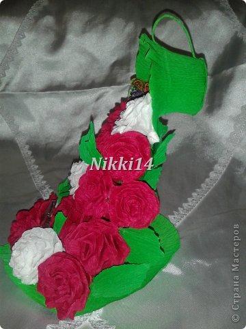 Водопад из роз. фото 2