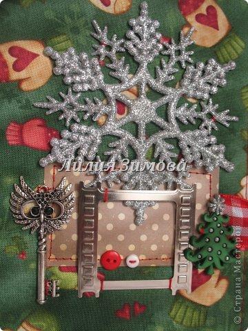 Доброго всем дня) Сегодня я покажу Вам работы которые были сделаны в подарок чудесному человеку. Правда они новогодние, но почему то именно новогодними мне захотелось их сделать.Все работы сделаны с нуля. фото 10