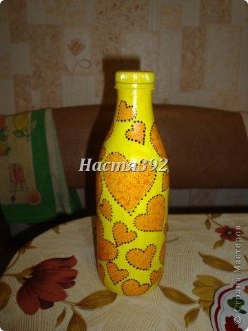 Пришлось на скорую руку делать бутылку-замок... фото 8