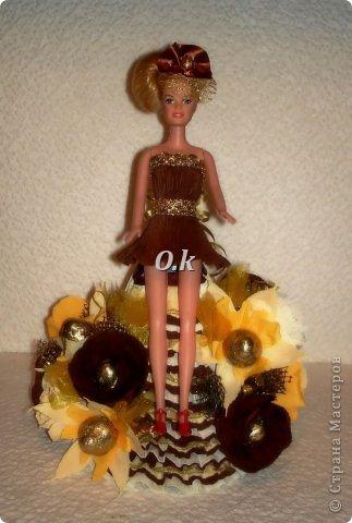 Всем привет, девочки! Я сегодня с новой куклой, самой любимой. На платье 13 конфет, розы и ваниль.  фото 3