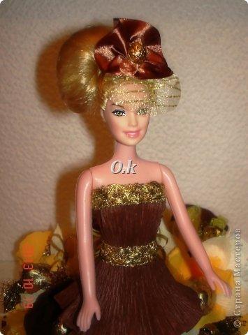 Всем привет, девочки! Я сегодня с новой куклой, самой любимой. На платье 13 конфет, розы и ваниль.  фото 5