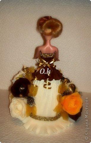 Всем привет, девочки! Я сегодня с новой куклой, самой любимой. На платье 13 конфет, розы и ваниль.  фото 4