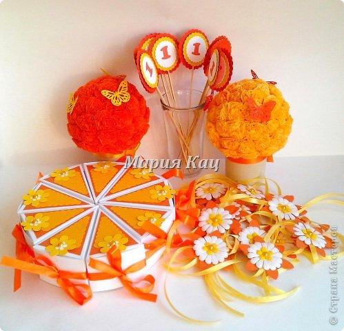Декор предметов Поделка изделие Скрапбукинг День рождения Аппликация Солнечный день рождения Бумага фото 1