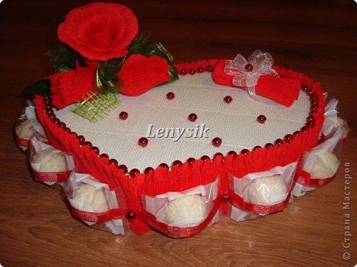 подарок на свадьбу, в рулончике-деньги......... фото 2
