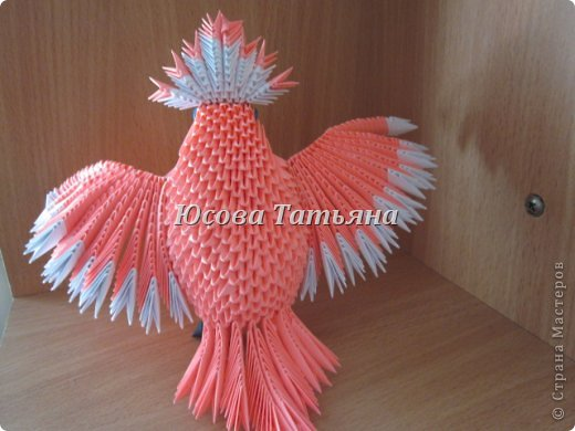 модульное Розовый попугай