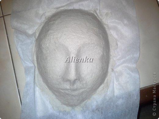 Маски Мастер-класс Папье-маше МК венецианская маска Бумага Клей фото 7