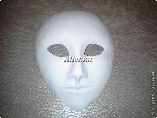 Маски Мастер-класс Папье-маше МК венецианская маска Бумага Клей фото 12