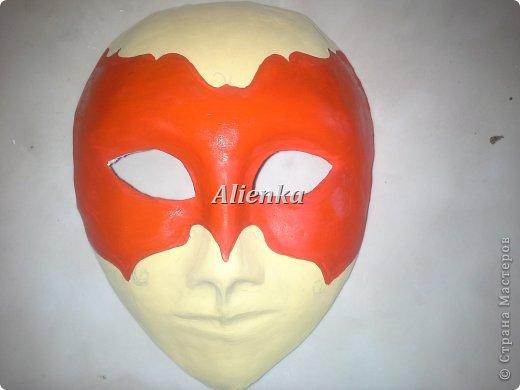 Маски Мастер-класс Папье-маше МК венецианская маска Бумага Клей фото 13