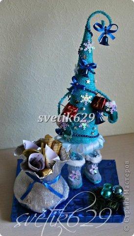Новый год к нам мчится -скоро все случится! Я уже начинаю делать подарки для родных и близких ,а ВЫ? Хочу рассказать как быстро и без особых затрат сделать очаровательные корзиночки. Такой подарок порадует не только ребенка ,но и взрослого.  фото 4