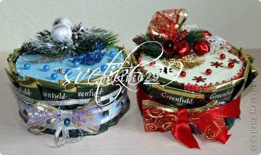 Новый год к нам мчится -скоро все случится! Я уже начинаю делать подарки для родных и близких ,а ВЫ? Хочу рассказать как быстро и без особых затрат сделать очаровательные корзиночки. Такой подарок порадует не только ребенка ,но и взрослого.  фото 15
