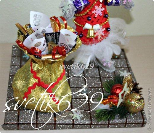 Новый год к нам мчится -скоро все случится! Я уже начинаю делать подарки для родных и близких ,а ВЫ? Хочу рассказать как быстро и без особых затрат сделать очаровательные корзиночки. Такой подарок порадует не только ребенка ,но и взрослого.  фото 33