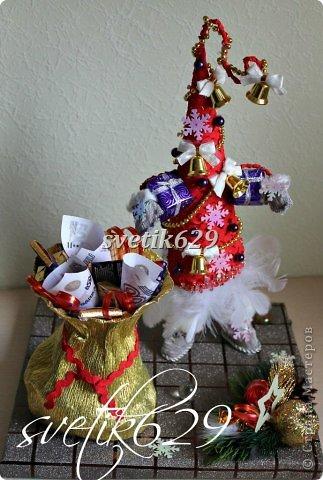Новый год к нам мчится -скоро все случится! Я уже начинаю делать подарки для родных и близких ,а ВЫ? Хочу рассказать как быстро и без особых затрат сделать очаровательные корзиночки. Такой подарок порадует не только ребенка ,но и взрослого.  фото 34