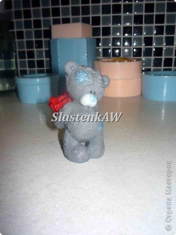 Приветствую жителей СМ! Хочу рассказать и показать как я заливаю такого вот милого мишку. Это мой первый МК, прошу строго не судить, но недостатки все же указать! фото 13