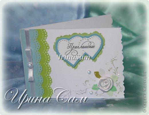 Мои новые открыточки, тема как всегда свадебная) Решила сделать пригласительные на девичник... фото 5