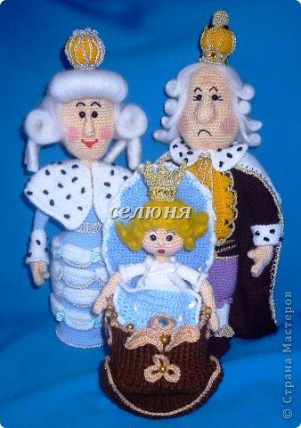 """Персонажи всем известной сказки Гофмана """"Щелкунчик"""" связала я, опираясь на образы мультфильма """"Щелкунчик"""" (1973 год) фото 7"""