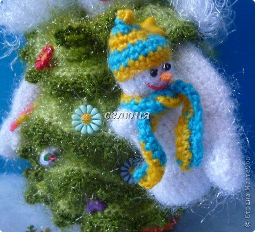 Вот какая Девчушка-Снеговушка появилась у меня благодаря крючку, ниткам и ... конечно, старанию. фото 6