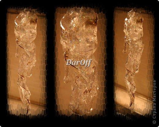 Мастер-класс Новый год Рождество СОСУЛЬКИИИИИИИИИИИИ   - Мастер-класс Бутылки пластиковые Клей фото 24