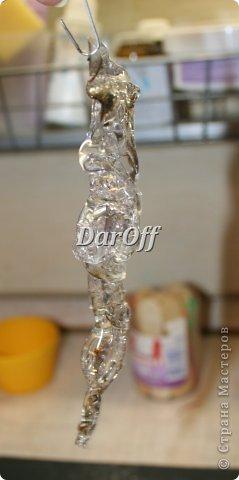 Мастер-класс Новый год Рождество СОСУЛЬКИИИИИИИИИИИИ   - Мастер-класс Бутылки пластиковые Клей фото 12