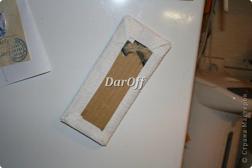 Декор предметов Мастер-класс Скрапбукинг Аппликация Приблуда для записей на холодильник_МК Бумага фото 4